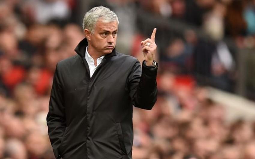 Joze Mourinyo səhvini etiraf etdi