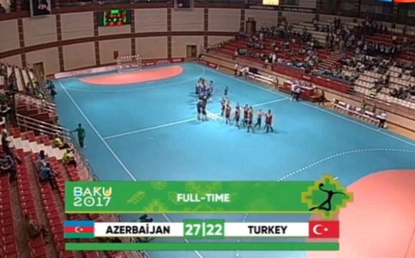 Islamic Games: Azerbaijan's female handball team qualified to semifinals as group leader