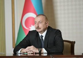 """İlham Əliyev: """"Xudafərin su anbarı ilə bağlı əməkdaşlığımız çox aktiv fazadadır"""""""