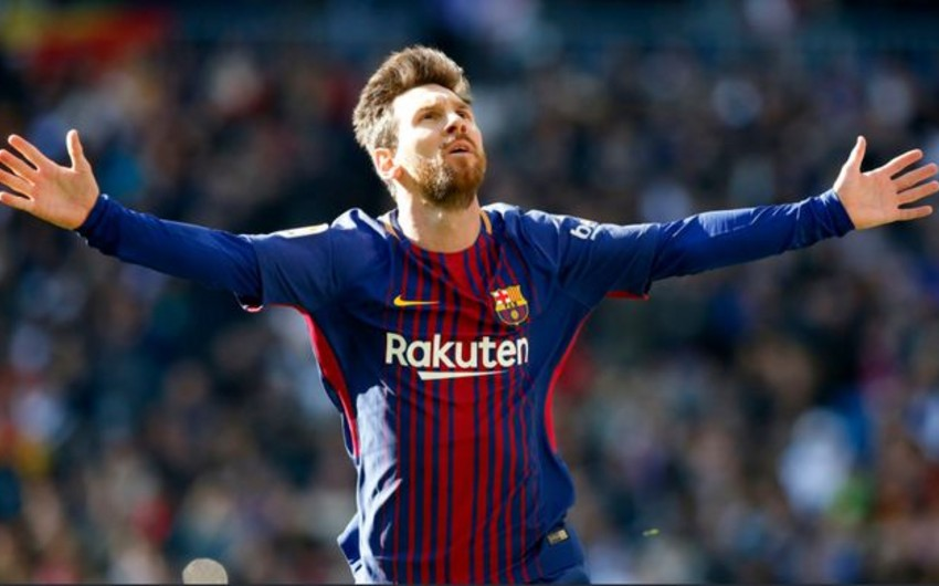 Messi ildə 100 milyon avrodan çox qazanaraq dünya futbolu tarixində rekord vurub