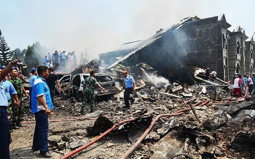 Number of victims of aircraft crash in Indonesia reaches 38