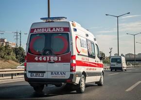 Ankarada qatar toqquşub, ölənlər var