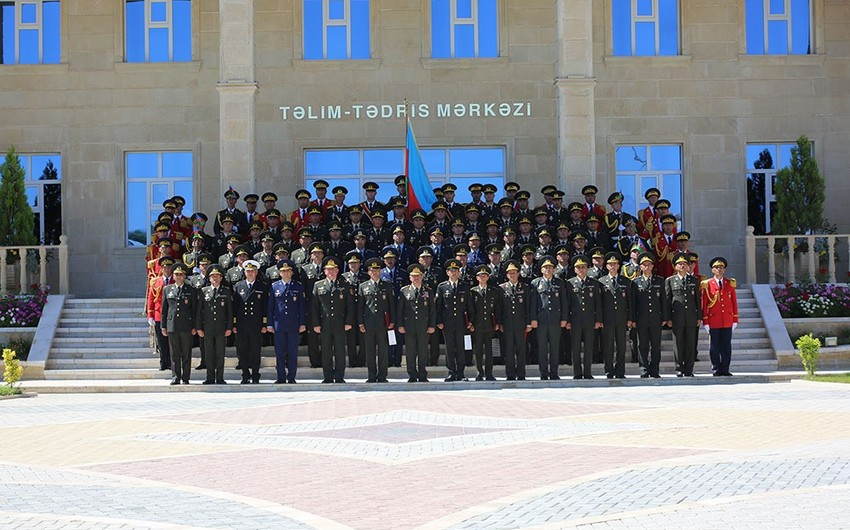 Officers Advanced Courses of Combined Arms Army ended - VIDEO