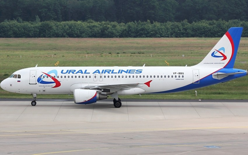 Ural Airlines place makes forced landing in Baku