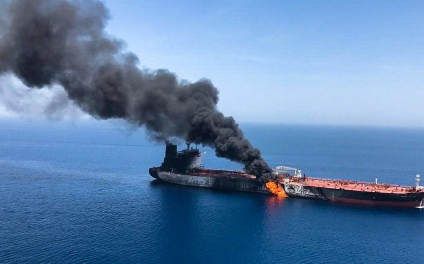 Britaniya İranı Oman körfəzində tankerlərə hücumda ittiham edib