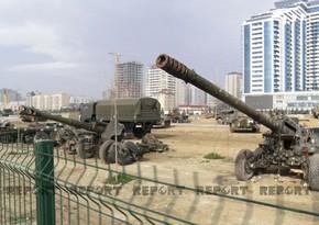 В Баку создается Парк военных трофеев