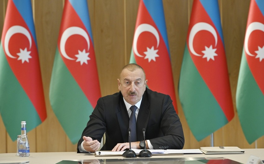 President: Azerbaijan will not take a step back from its principled position