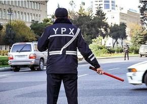 DYP Bakıda avtobus dayanacaqlarını zəbt edən taksilərə qarşı reyd keçirib
