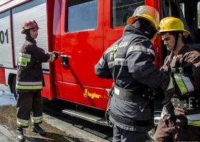 В Сумгайыте в жилом доме произошел пожар