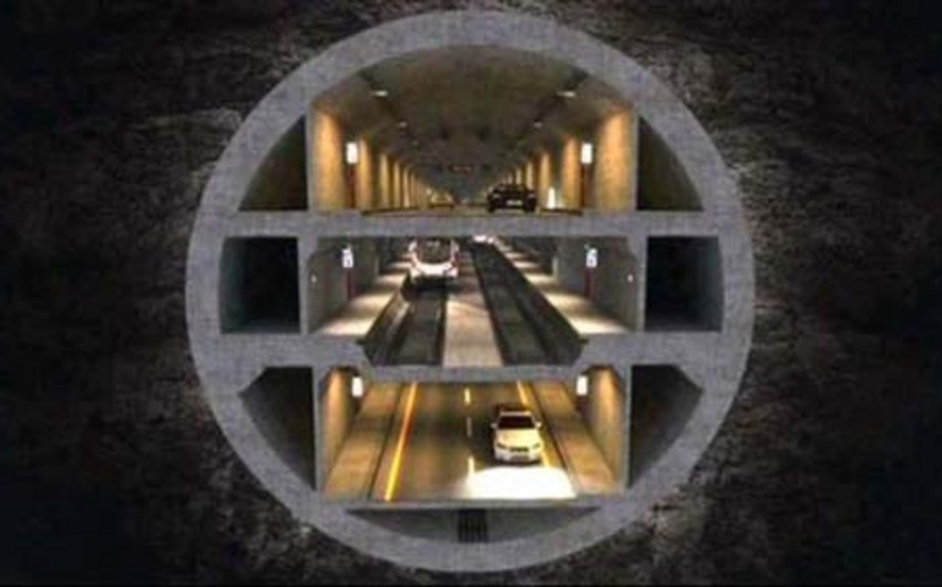 Boğazın altından çəkilən 3 mərtəbəli tunelin keçid haqqı müəyyənləşib