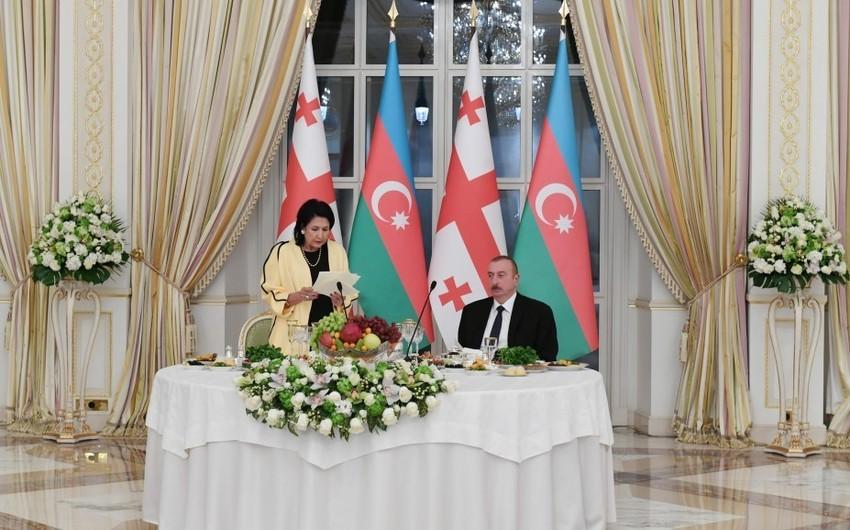 Salome Zurabişvili: Ərazi bütövlüyünün pozulması həm Azərbaycanın, həm də Gürcüstanın faciəsidir