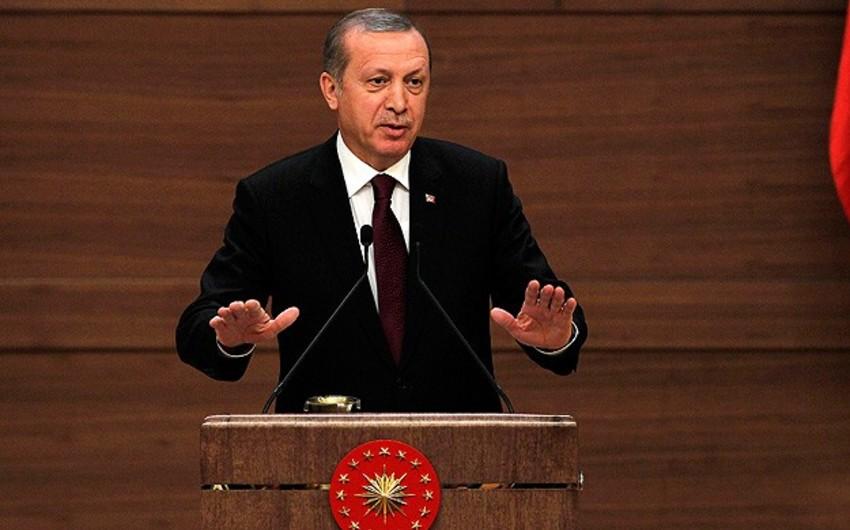 Эрдоган: Турция противостоит тем, кто стремится задушить ее