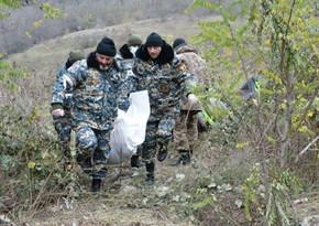 Ermənistan ordusunun itkin düşmüş daha bir hərbçisinin meyitinin qalıqları tapılıb