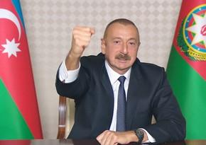 Верховный главнокомандующий: Освобождены еще 5 сел Джебраильского района