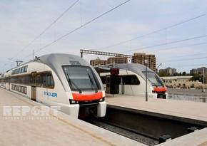 В график движения электропоездов Баку-Сумгайыт добавлен новый рейс