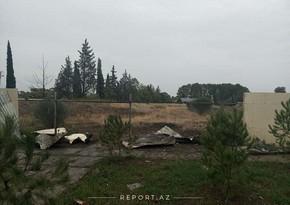 Düşmən Bərdə şəhərinin mərkəzinə 10-dan artıq raket atıb, evlərə ziyan dəyib