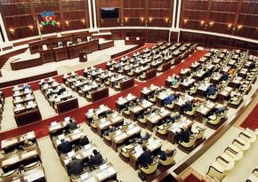 Milli Majlis's plenary meeting kicks off