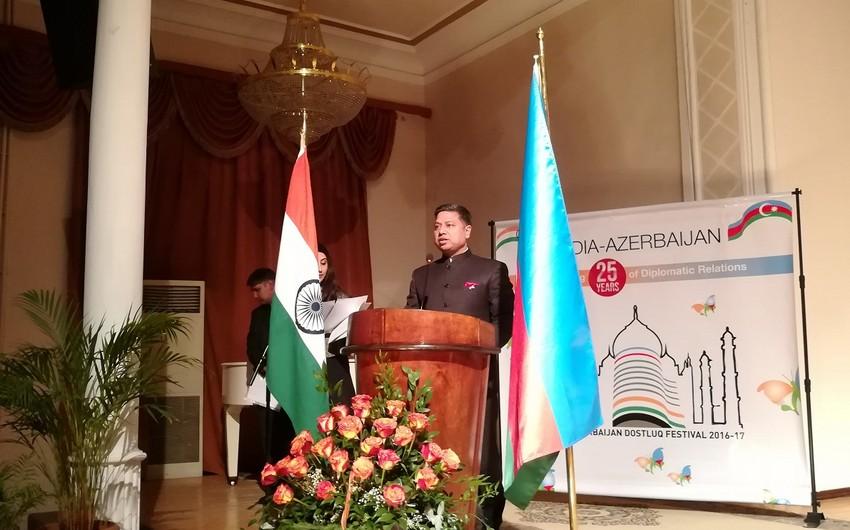 Посол: Отношения между Азербайджаном и Индией основываются на древней истории