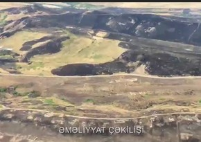 Fire breaks out in mined area in Khojavand, two helicopters involved