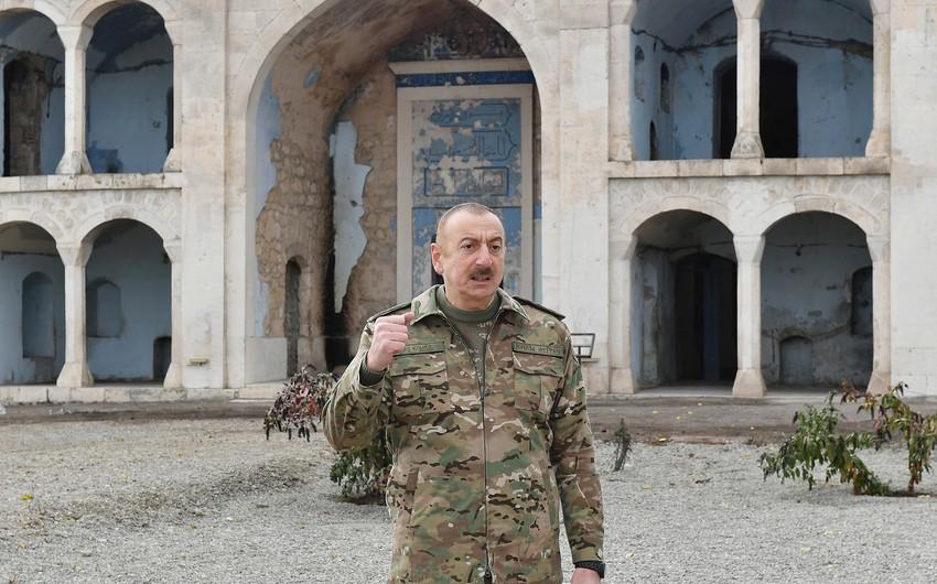 Президент Азербайджана: Мы сломали врагу хребет, мы одержали славную Победу