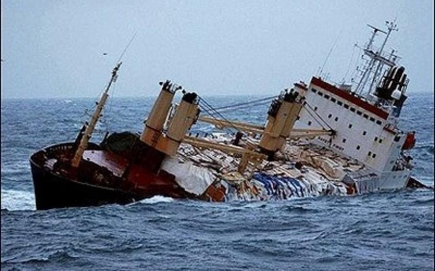 Китайский корабль потерпел крушение в Южно-Китайском море