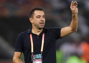 Xavi says yes to Barca