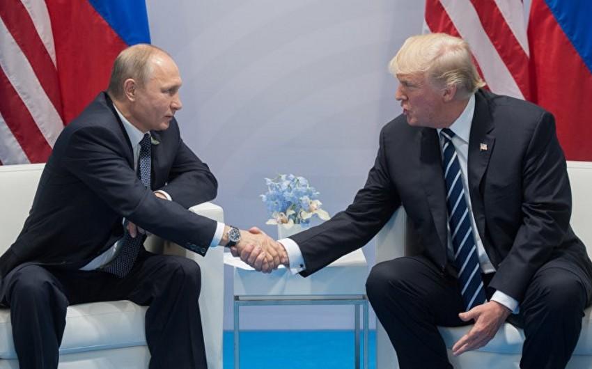 Donald Tramp Vladimir Putinlə görüşdən imtina edib