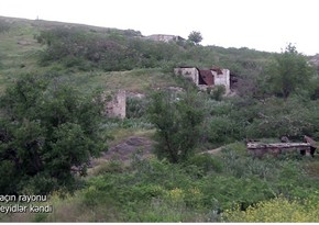 Footage from Seyidlar village of Lachin