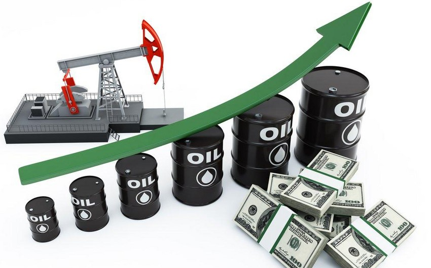 Oil price hits one-year high