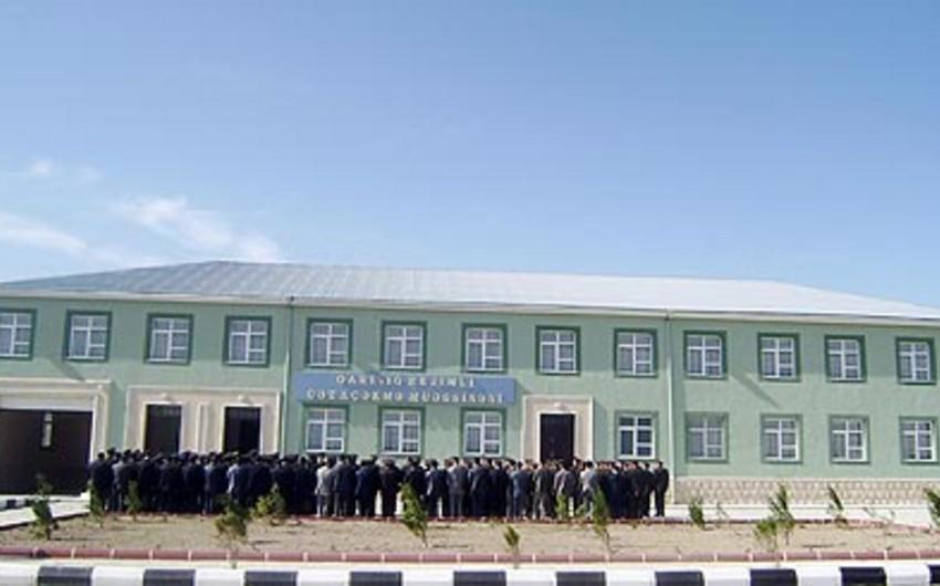 Naxçıvan Penitensiar Xidməti kotirovka elan edib