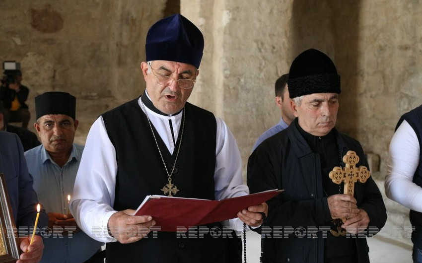 Religious community chairman: Armenians destroyed, falsified our churches