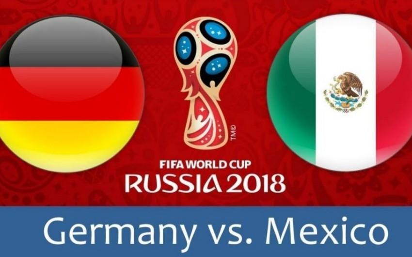 Германия и Мексика объявили стартовые составы на матч ЧМ-2018