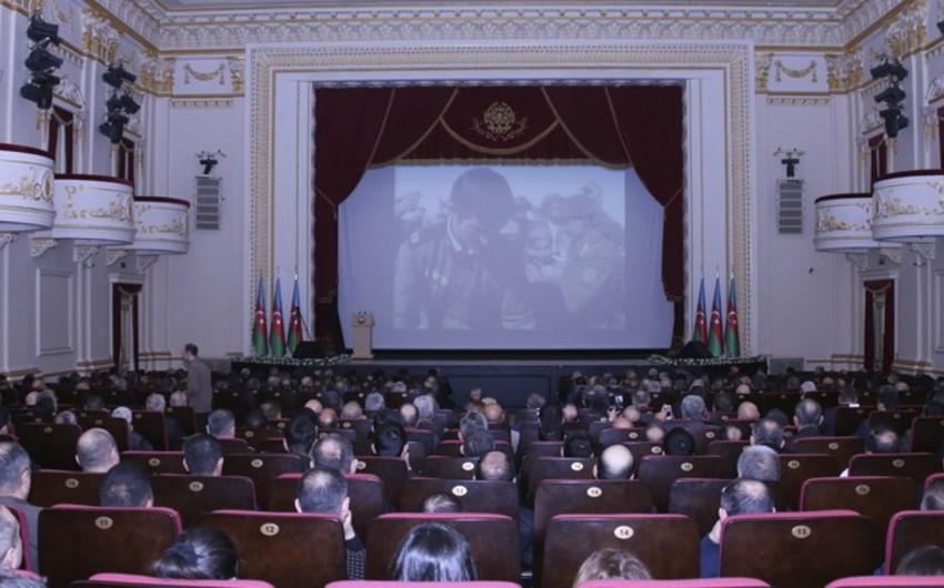 Sovet qoşunlarının Əfqanıstandan çıxarılmasının 30-cu ildönümü münasibətilə tədbir keçirilib - FOTO