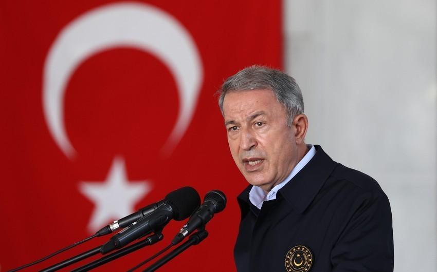 Hulusi Akar: Azərbaycanla hərbi təlimlərfasiləsiz olaraq davam edir