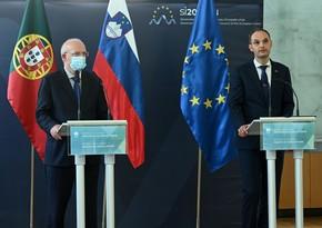 Португалия символически передала Словении председательство в Совете ЕС