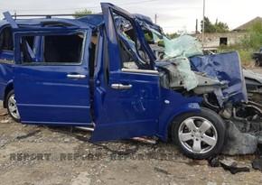 DYP Ucarda 5 nəfərin ölümü ilə nəticələnən yol qəzası ilə bağlı məlumat yaydı