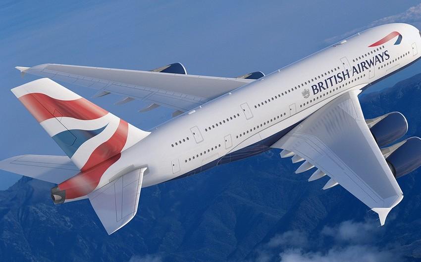 British Airways Çinə uçuşları dayandırıb
