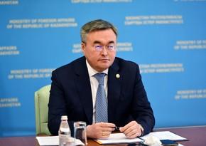 Глава МИД Казахстана: Азербайджан - наш главный партнер на Южном Кавказе