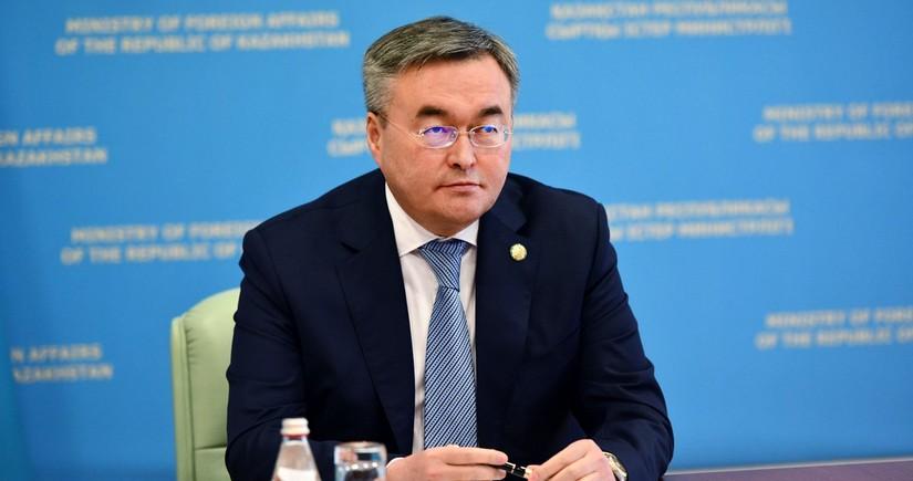 Qazaxıstanın XİN başçısı: Azərbaycan bizim Cənubi Qafqazda əsas tərəfdaşımızdır