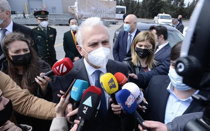 Nazir müavini: Hazırda Azərbaycanda 550 mindən çoxinsan peyvənd olunub
