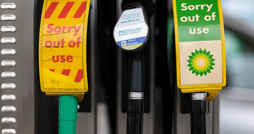 В Великобритании планируют наладить поставки топлива на АЗС с помощью армии