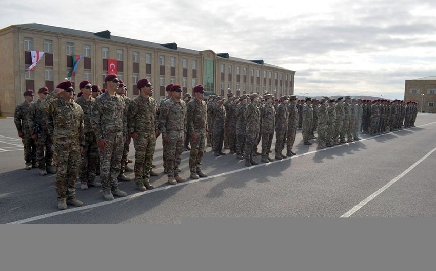 Baku hosts opening ceremony of Caucasian Eagle - 2019 joint exercises - VIDEO