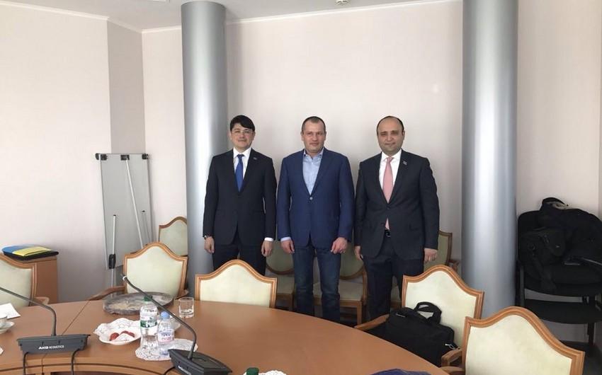 Azərbaycan və Ukrayna parlamentlərinin komitələri arasında görüş keçirilib