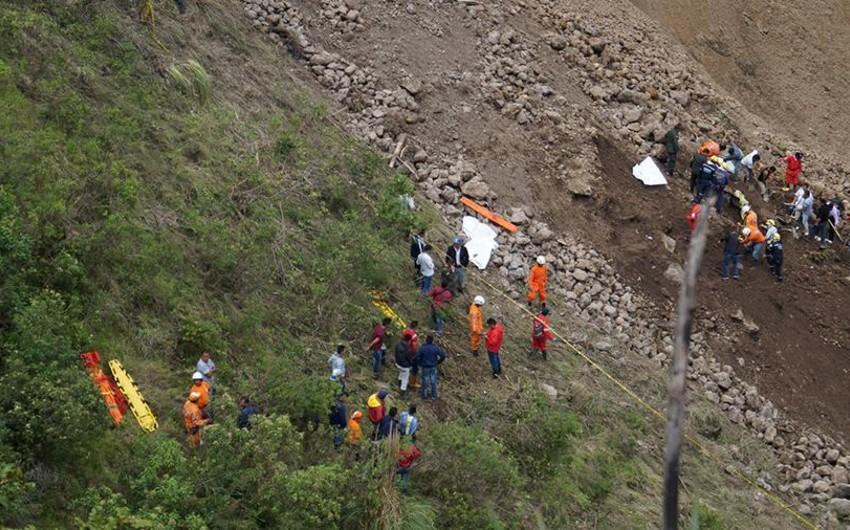 Kolumbiyada iki ağır yol qəzası baş verib: 18 ölü, 14 yaralı