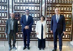 Azərbaycan nümayəndə heyətiİrana gedib
