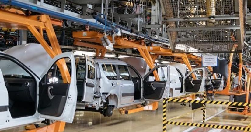 """AvtoVAZ"" ""Lada Granta""nın istehsalını iki günlük dayandırır"