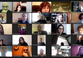 Состоялась украинско-азербайджанская онлайн-конференция, посвящённая трагедии 20 января