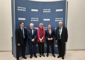 Генсек ОБСЕ провела встречу с сопредседателями Минской группы