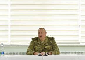 President: Fizuli city and several villages of the district were liberated from occupation