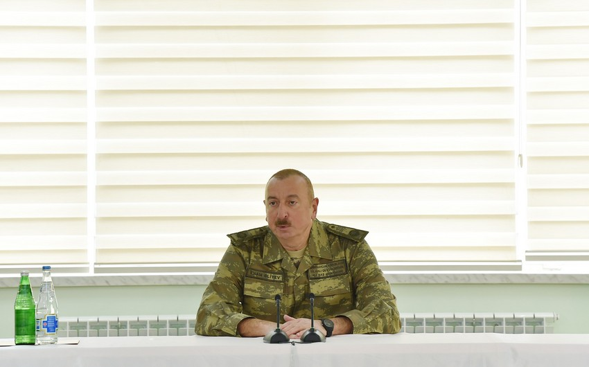 Prezident: Füzuli şəhəri və rayonun daha bir neçə kəndi işğaldan azad olunub